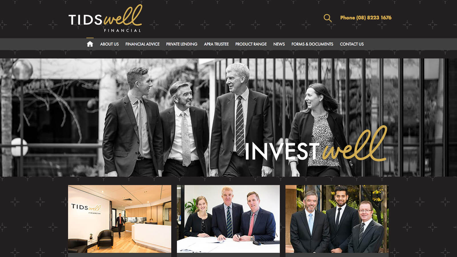 Tidswell Website Development