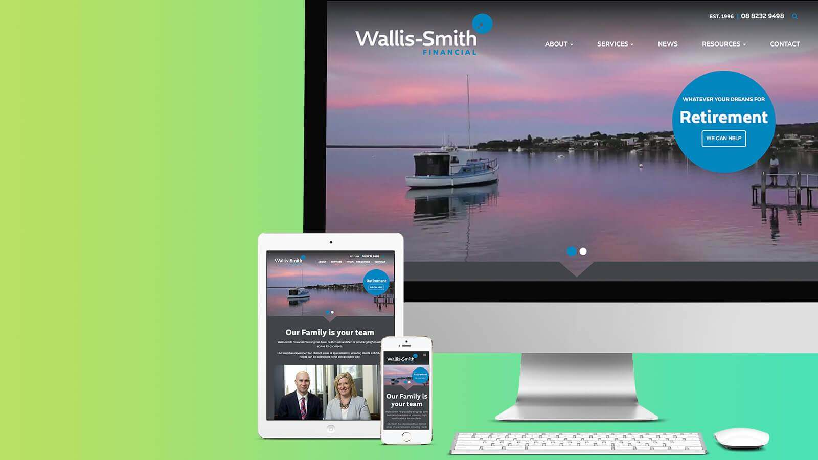 Wallis-Smith Website Development - Design, Branding & Strategy - Digital Agency