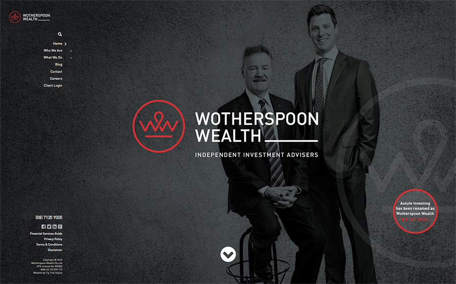 Wotherspoon Wealth - Website - Home