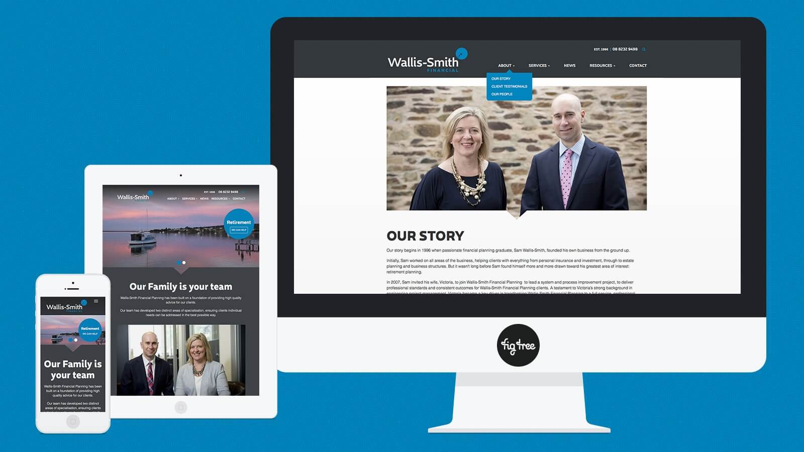 Wallis Smith Website