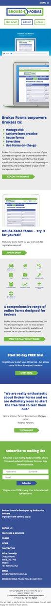 Broker Forms
