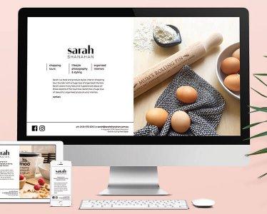 Sarah Shanahan - Website Development