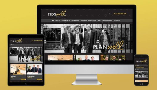 Tidswell Financial - Website Development