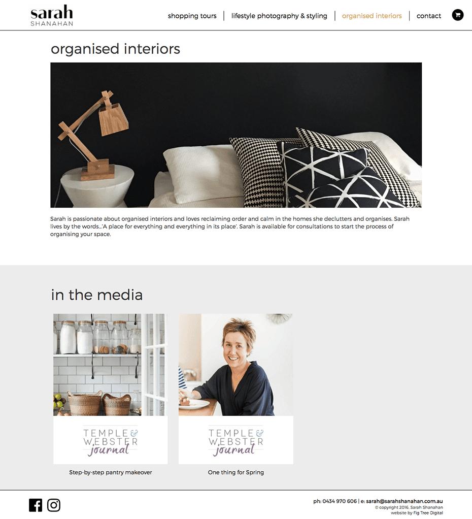 Sarah Shanahan - website