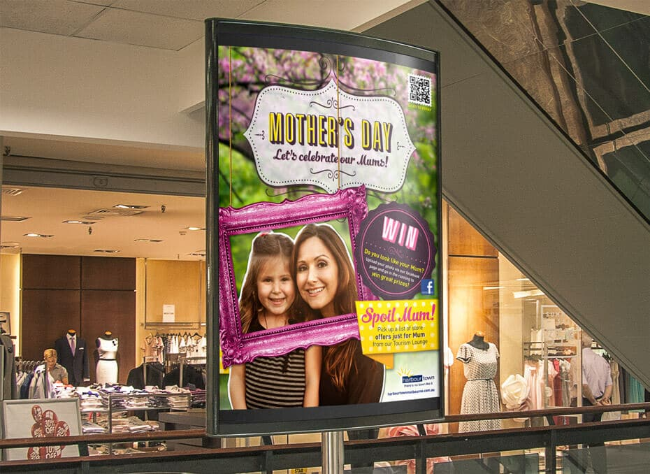 Harbour Town Melbourne - Poster - Mothers day