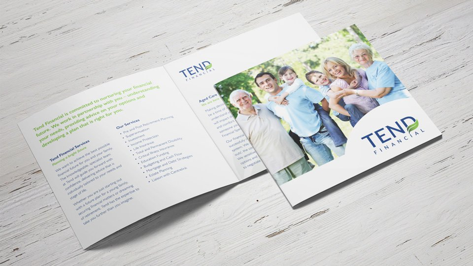 Tend Financial - Brochure - Print Design
