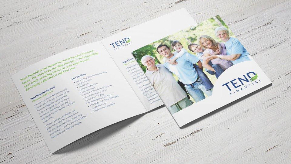 Tend Financial - Brochure - Print Design
