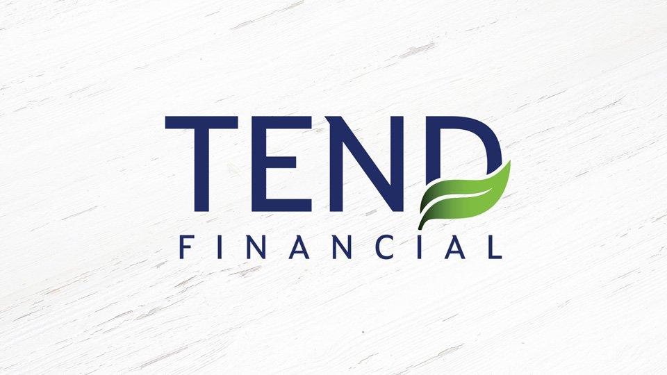 Tend Financial - Logo - Print Design