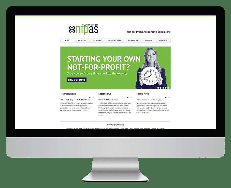 NFPAS - Website Development
