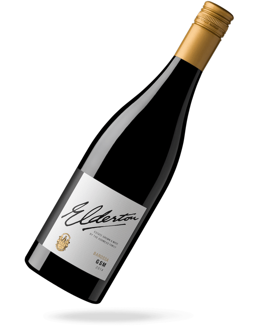 Elderton - Wine lable