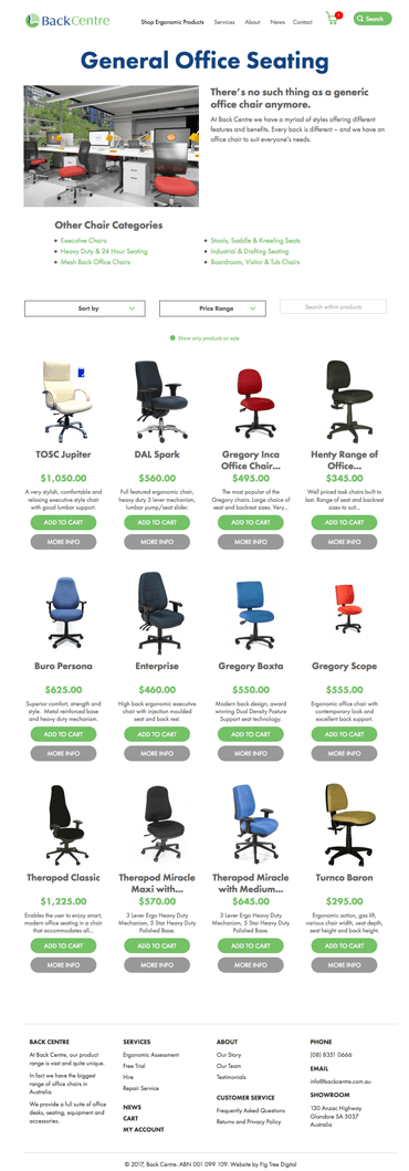 Fig Tree Digital Back Centre Website Design Workplace Seating 1