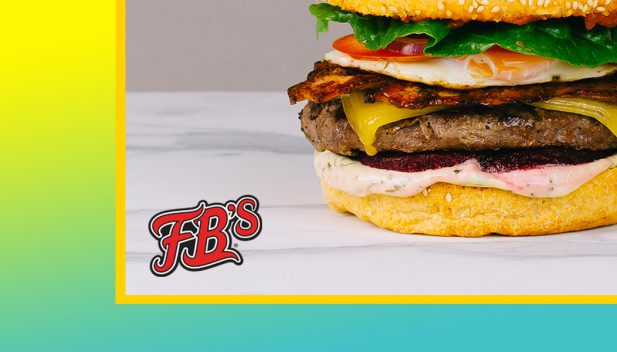 Social Media Marketing - Fancy Burgers - Graphic Design
