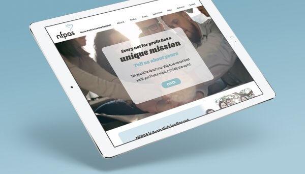 Copywriting - NFPAS Website Design