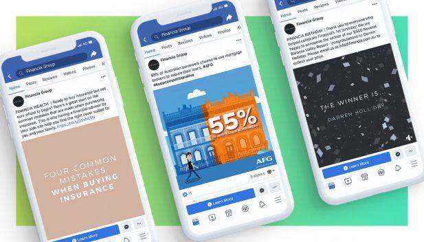 Facebook Advertising - Financia