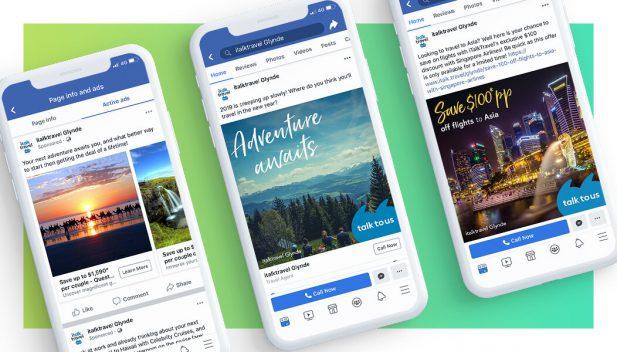 Social - iTalkTravel Glynde Social Media Marketing and Facebook Advertising