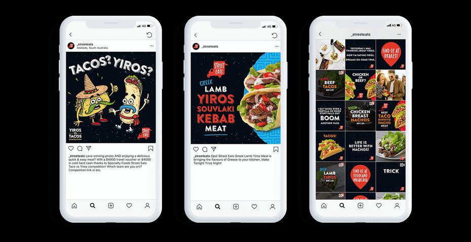 Social Media Street Eats