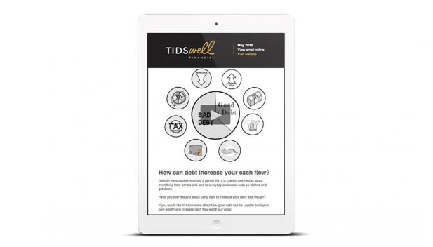 Email Marketing - responsive Email Templates Tidswell Adelaide
