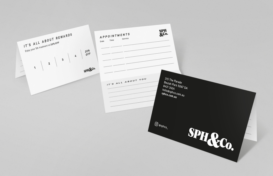 SPH&Co Appointment Card