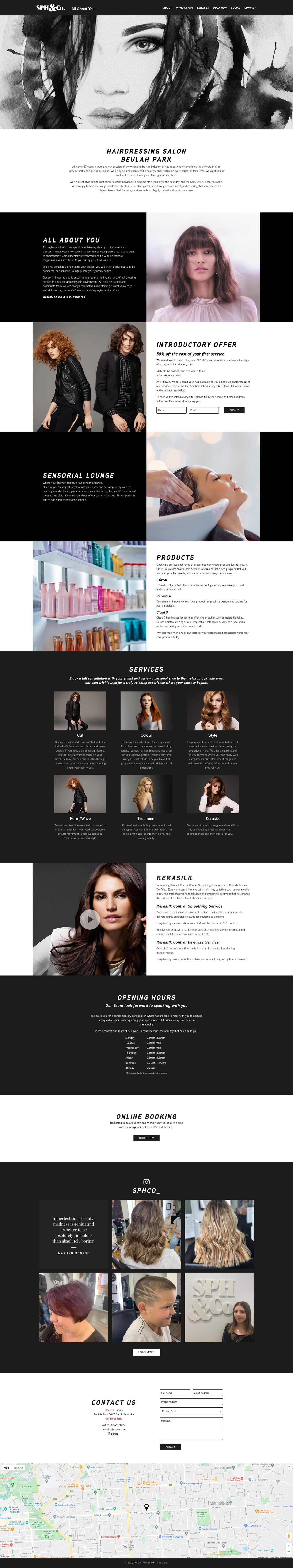 SPH&Co Website