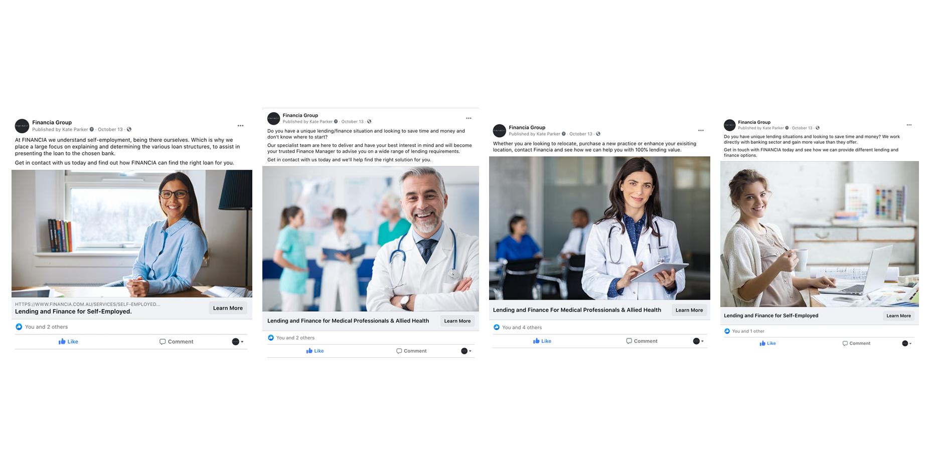 Financia Facebook Advertising