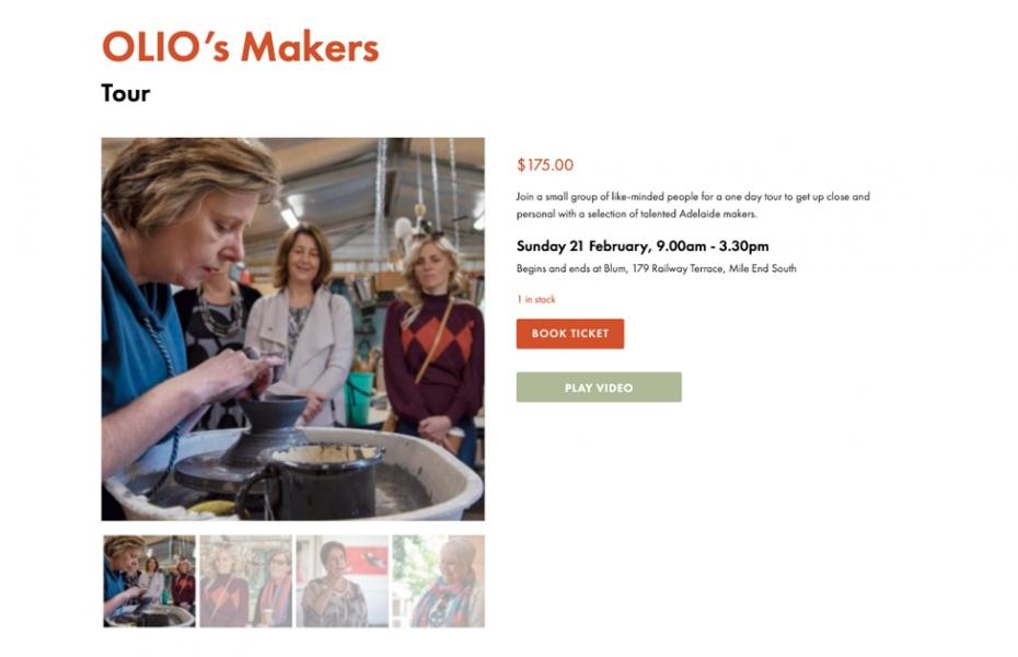 Olio Makers Tour
